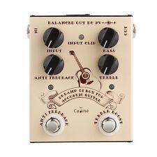 Caline CP-40 acustico PREAMPLIFICATORE DI BOX pedale per chitarra