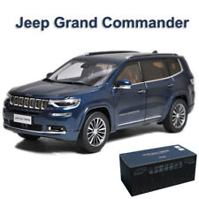1:18 Scale Model Car - Jeep Grand Commander Blue Diecast Collections