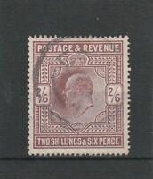 Großbritannien, England, Mi.Nr. 115 A von 1902, gestempelt, König Edward VII