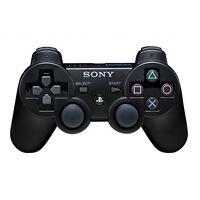 Sony 99004 PlayStation 3 Dualshock 3 Wireless Controller Black NEW