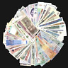 Lot Set 100 PCS Different MIX World Banknotes From 50 Different Countries, UNC