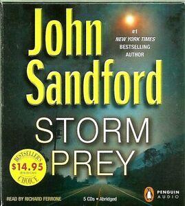 "Audio ~""Storm Prey"" by John Sandford (2011) on 5 CDs, Abridged"