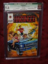 Harbinger #1 CGC 9.6 Qualified   Missing Harbinger 0 Coupon and middle staple
