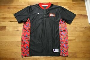 1997-98 Philadelphia 76'ers non game used shooting shirt size XXL
