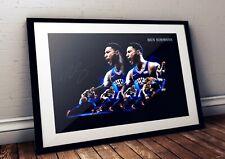 Ben Simmons Philadelphia 76ers  NBA Autographed Poster Print. A3 A2 A1 Sizes