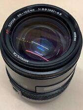 MINOLTA AF 35-105mm 3.5-4.5 Zoom Lens for MINOLTA A SONY ALPHA A DSLR