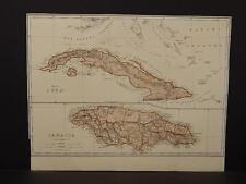 Cuba, Map, c.1880, Y5#71