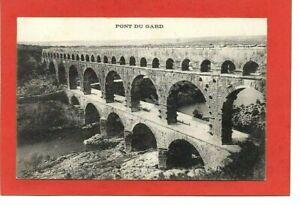 cpa 30 NIMES - Pont du Gard (1912)