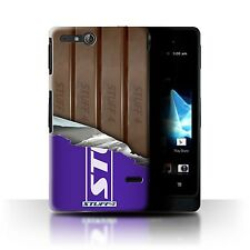 Stuff 4 Case/Case/Back Cover for Sony Xperia go/st27i/Chocolate