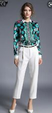 Silk Printed Longsleeve Shirt