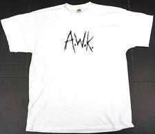 ANDREW WK T-shirt A.W.K. Scratch Logo Tee Mens XL New