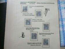 KGV Stamps:  Variety Used  -  Must Have  (t411)