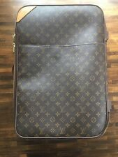 100% originale LOUIS VUITTON TROLLEY PEGASE 55 Monogram Canvas