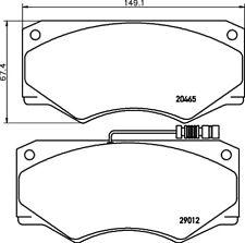 Mintex Freno Delantero Pad Set MDB1245-Totalmente Nuevo-Original - 5 Año De Garantía