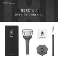 MONSTA X Official Goods Light Stick Ver.2 Free Standard with Tracking Number