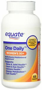 One Daily Women's 50+ Multivitamin/Multimineral Supplement 65ct By Equate