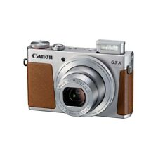 Canon Powershot G9 X Mark II Silver Digital Camera Japan Domestic Version New