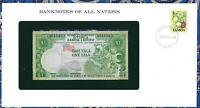 Banknotes of All Nations Western Samoa P19 1 Tala 1980 UNC Low# A010803