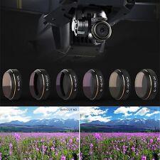 6pcs PGY G-UV ND4 ND8 ND16 ND32 CPL HD Camera Lens Filters Set For DJI MAVIC Pro