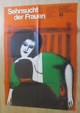 Filmplakat  : Sehnsucht der Frauen (Eva Dahlbeck , Anita Björk , Ingmar Bergman)