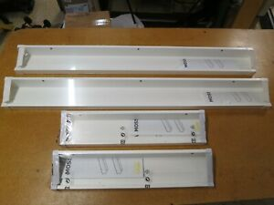IKEA MOSSLANDA Picture Ledge Floating Shelf White. 402.917.66, 902.921.03 (4pcs)