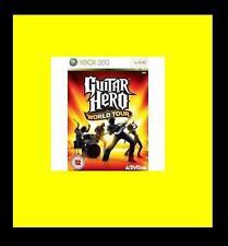 Guitar Hero World Tour Xbox 360 PAL Brand New