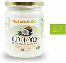Huile de coco Non Raffiné Extra Vierge Pressée à Froid 100% Bio Cheveux Aliments