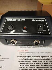 Gesswein Ultrasonic polishing System. New. UM-1200.
