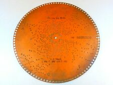 "Regina 15.5"" Music Box Copper Disc Auld Lang Syne Melody 1249 Beginning"