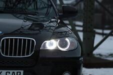H8 Brenner Angel Eyes für BMW mit 10 Watt, X6 E71, Standlicht xenon canbus Ringe