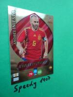 Panini RUSSIA 2018 Fifa World Cup Limited Edition Iniesta Adrenalyn Spain