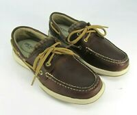 WOMENS SPERRY TOP SIDER ROSEFISH 2 EYED BOAT SHOES STS99113 SIZE 7M Flannel