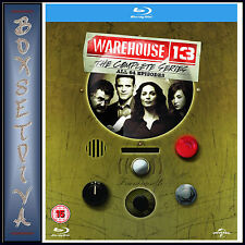 WAREHOUSE 13 - COMPLETE SERIES -SEASONS 1 2 3 4 & 5 *BRAND NEW BLU-RAY BOXSET***