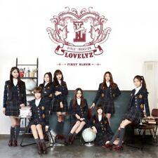 LOVELYZ 1ST MINI ALBUM GIRLS' INVASION INFINITE CD + PHOTOCARD SEALED