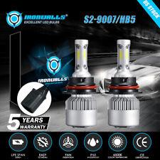 9007 Hb5 Led Headlight Bulbs Conversion Kit High Low Dual Beam 6500K Super White (Fits: Chrysler Concorde)