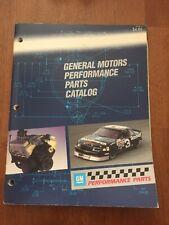 1990 Gm General Motors Performance Parts Catalog Pp No. 3