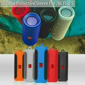 Protective Sleeve Hollow Travel Carry Cover Storage Case for JBL Flip5 Silicone