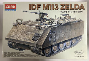 1/35th Scale ACADEMY IDF M113 ZELDA TA96 1372 Open Box