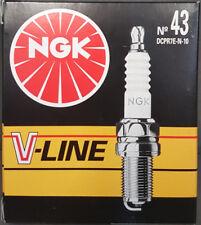 4x NGK Bujía V-Line 43 94037 DCPR7E-N-10 Alfa Fiat Lancia #
