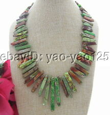 S051010 20'' Imperial Jasper Necklace