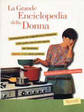 La grande enciclopedia della donna - Lella Costa - Libro Nuovo in Offerta!