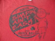 2012 Wiffle Ball Tournament Simpin Aint Easy pimp bat shamrock tattoo T shirt XL