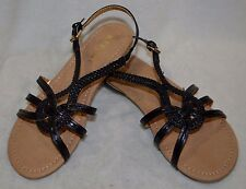 Report Girl's Cutey Black Sandals - Size 12 / 13 / 5 NWB