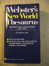 Webster's New World Thesaurus : Expanded and Updated for the 1990's by Charlton