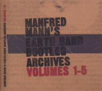 MANFRED 'S EARTH BAND MANN - BOOTLEG ARCHIVES VOL.1-5 5 CD NEU