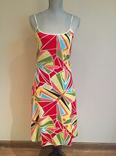 MISSONI SPORT Abstract summer beach dress  US 6 EUro 42 Excellent