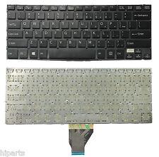 New SONY VAIO SVF14A 9Z.NABBQ.001 SK0BQ 01 149238221US Black Keyboard