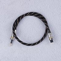 Toslink To Mini Plug 3.5Mm Cavo audio ottico digitale Spdif Fibra rotonda S gf