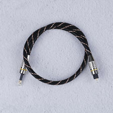 Toslink To Mini Plug 3.5Mm Cavo audio ottico digitale Spdif Fibra rotonda S gf