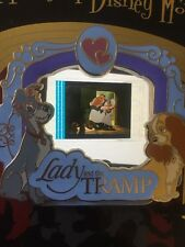 Disney Pin Lady And The Tramp Le cel Piece Of Movie History Movies PODM Rare